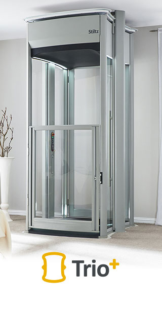 Wheelchair Lifts By Stiltz The Trio Home Lift